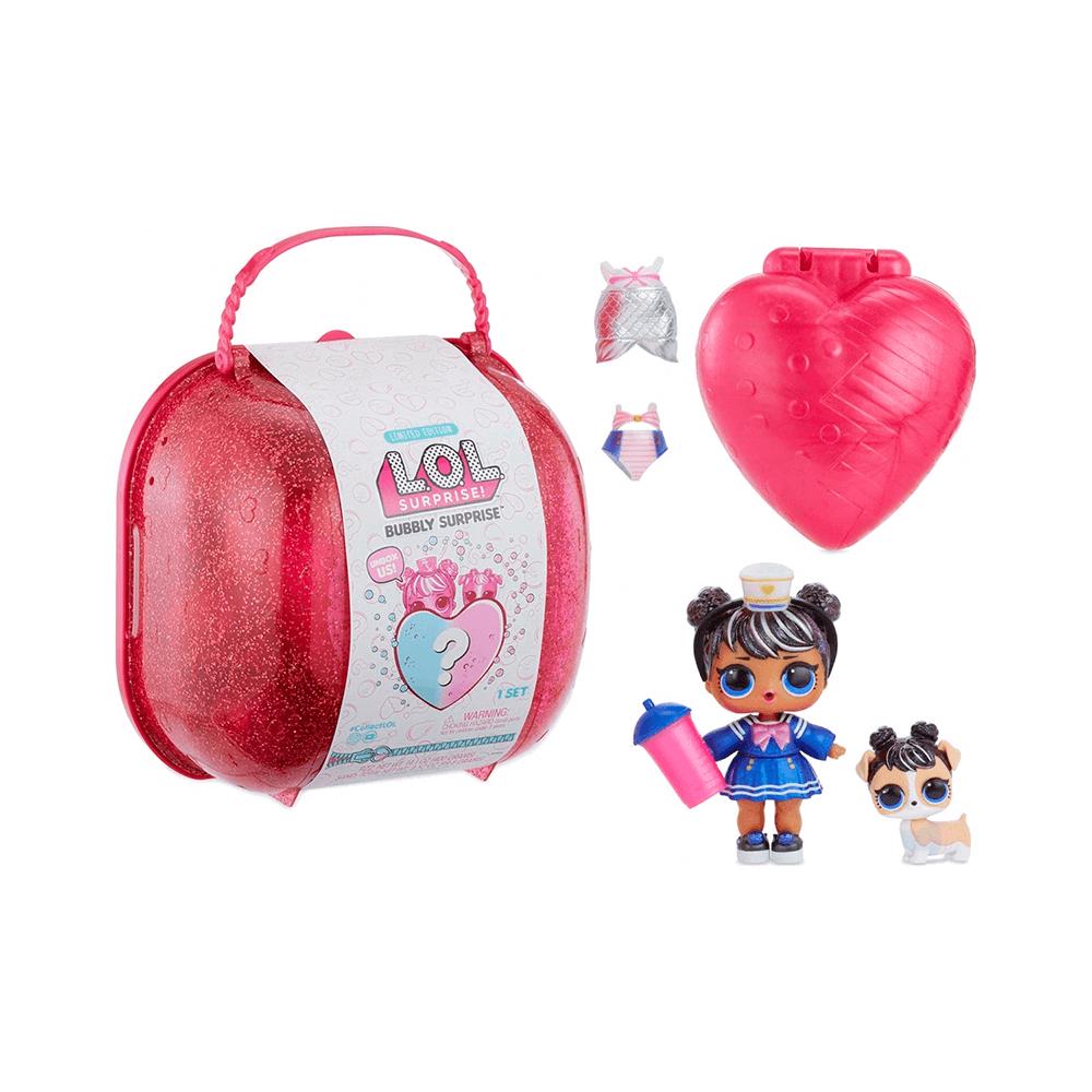 Кукла LOL Bubbly Surprise (чемоданчик-шипучий сюрприз) розовый - 4