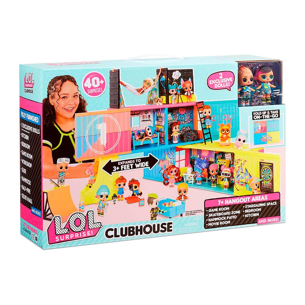 Игоровой набор L.O.L. Surprise Clubhouse - Клубный дом - 4